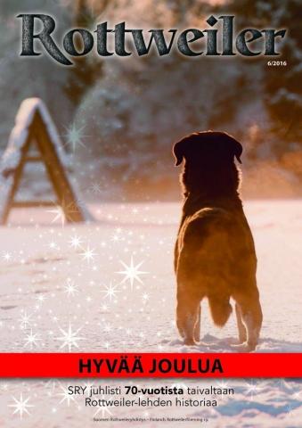 Rottweiler-lehti 2016