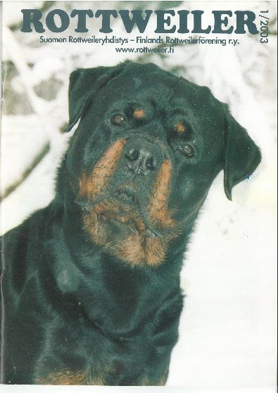Rottweiler-lehti 2003