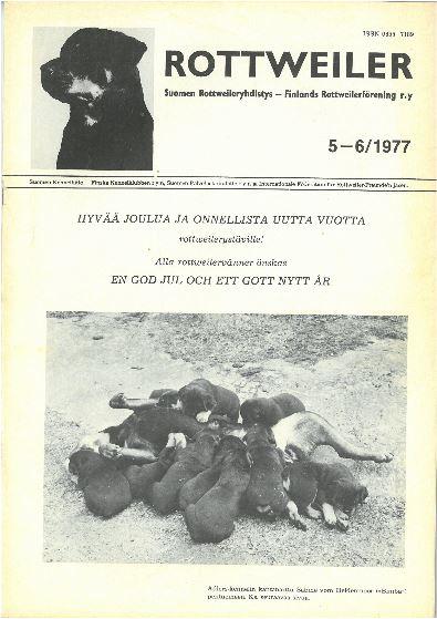 Rottweiler-lehti 1977