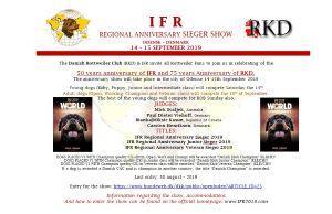 IFR juhlanäyttely Tanskassa