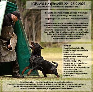 IGP-leiri 22.-23.5.2021