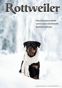 Rottweiler-lehti 1/21 digilehtenä