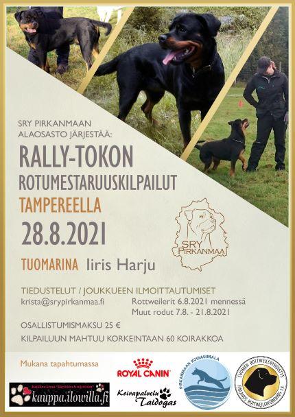 Rally-tokon rotumestaruuskisat 2021